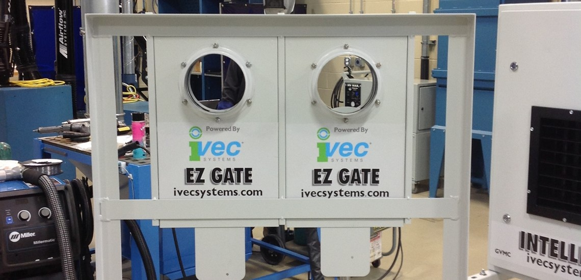 Pneumatic Duct E-Z gate