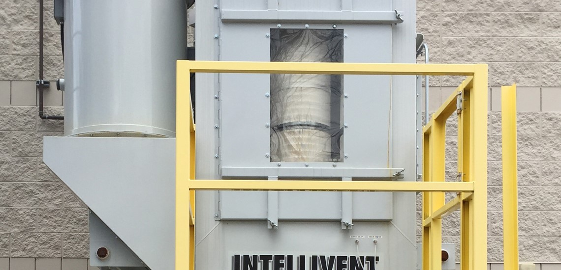 IVDV Vertical Series Cartridge Dust Collector